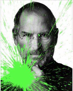 Julian T, Steve Jobs, stampa digitale su PVC, 80x60 cm, 2015