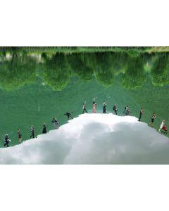 Norma Picciotto, Tra cielo e terra, fotografia con elaborazione digitale, 30x40 cm