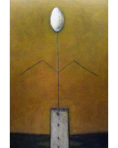 Luca Bonfanti, Expo Milano 2015, acrilico su tela, 90x60 cm