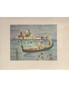 Venezia, litografia, 80x60 cm
