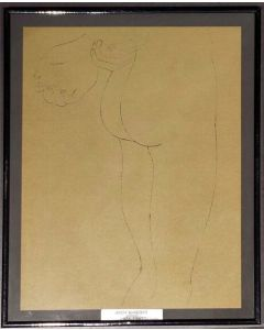 Andy Warhol, Nudo, stampa, 25x 31cm (con cornice)