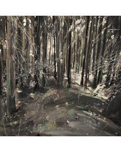 Tiziana Vanetti, Wild 3, acrilico su tela, 50x50 cm