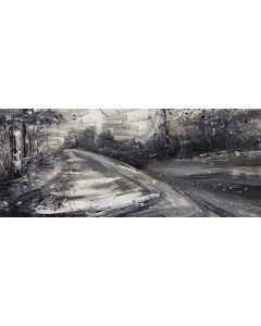 Tiziana Vanetti, Wild 4, acrilico su tela, 30x70 cm
