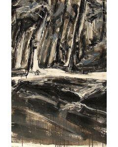 Tiziana Vanetti, Wild 5, acrilico su tela, 90x60 cm
