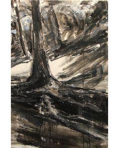 Tiziana Vanetti, Wild 6, acrilico su tela, 90x60 cm