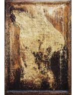 Enzo Rizzo, Nostalgia del mito, olio su tavola, 108x78 cm