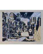 Pablo Picasso, Las Meniñas, serigrafia, 35x45 cm