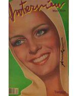 Andy Warhol, Interview – March 1983, rivista con copertina firmata dall'artista, 42,5x27,5 cm