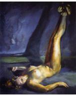 Wolfgang Alexander Kossuth, Nudo, pastelli su carta, 70x60 cm, 2005
