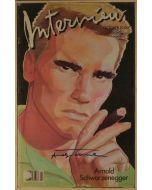 Andy Warhol, Interview – October 1985, rivista con copertina firmata dall'artista, 42,5x27,5 cm