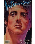 Andy Warhol, Interview – September 1985, rivista con copertina firmata dall'artista, 42,5x27,5 cm