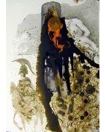 Salvador Dalì, Iesus Flagellatus, litografia tratta da La Sacra Bibbia, 50x39 cm
