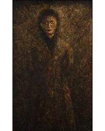 Marino Benigna, Little woman, olio su tela, 60x100 cm, 2006