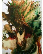 Salvador Dalì, Bucefalo, litografia, 36x56 cm tratta da Les Chevaux de Dalì, 1970-72