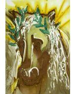 Salvador Dalì, Il cavallo della primavera, litografia, 36x56 cm tratta da Les Chevaux de Dalì, 1970-72