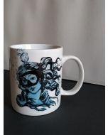 Blub, La Venere di Botticelli, mug (tazza) in porcellana, h 9,5 cm