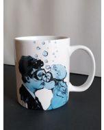 Blub, La Dolce Vita, mug (tazza) in porcellana, h 9,5 cm