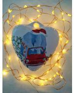Maxacolori (Massimiliano Milano), Chi non sale è un elefante, cuore di Natale in ceramica