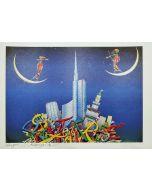 Meloniski da Villacidro, Tra cielo e terra, stampa, 45x32 cm