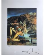 Salvador Dalì, The spectre of sex appeal, litografia, 50x65 cm, 1988
