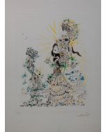 Salvador Dalì, The Scarf, acquaforte, 58x79,5 cm