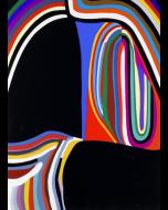 Alberto Burri, Trittico B: 3, serigrafia, 1973-1976, 43x35 cm