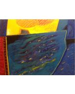 Togo, Alta marea, olio e acrilico su tela, 60x80 cm, 2008