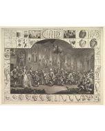 William Hogarth, Analysis of beauty, Plate II, acquaforte, 56x46cm
