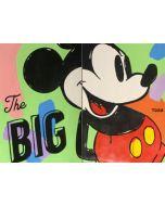 Andrew Tosh, The Big, acrilico e smalto su carta, 66x48cm, 2020