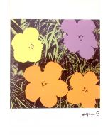 Andy Warhol, Flowers, serigrafia su carta Arches France, 56,5x38 cm