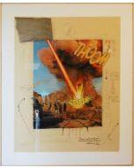 Enrico Pambianchi, Antonioni Project, tecnica mista su tela, 110x135 cm, 2012