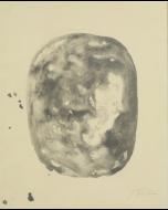 Lucio Fontana, Concetto spaziale, Incisione all'acquatinta con rilievi e buchi, 60x48,5 cm,