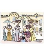Pagot, Grafica su carta, Calimero e Campigli, 50x33 cm
