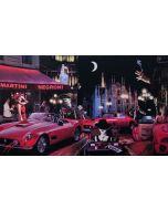 Pisati da Milano, Chapeau Milano e Ferrari, retouché, 100x60 cm