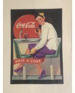 Coca Cola, Have a Coke, pubbilicità vintage, 30x40 cm