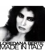 Andy Warhol, Loredana Bertè: Made in Italy, copertina con firma originale e disco CGD, 31x31cm, 1981