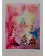 Salvador Dalì, Arabian nights, litografia, 70x50 cm