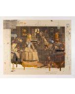 Enrico Pambianchi, The Family, tecnica mista, 70x58,5 cm