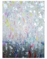Francesco Cerutti, Dissolversi nella luce, tecnica mista, 80x60 cm