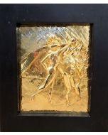 Salvador Dalì, La Danza,  bassorilievo, 30x40 cm (47.5x41 cm con cornice)