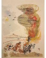 Salvador Dalì, Pater Noster, litografia, 42x34 cm, 1966