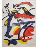 Giulio Ciampi, Zen, ceramica, 46x42 cm, 2012