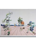 Salvador Dalì, Flordalì I, litografia a colori, 103x72,2 cm, 1981