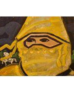 Carlo Massimo Franchi, Il biancone della principessa, olio su tela, 30x24cm