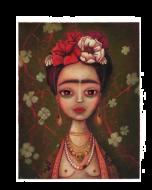 Giulia del Mastio, Frida, Grafica Fine Art, 30x37 cm
