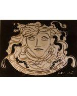 Carlo Massimo Franchi, Medusa, tecnica mista, 28.5x39.5 cm