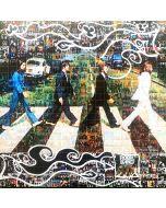 Maria Murgia, Omaggio a The Beatles, fotomosaico digitale, 50x50 cm