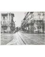 Gaetano Alfano, Corso di Porta Vercellina, fotografia su carta, 55,5x42 cm