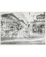 Gaetano Alfano, Archi di Porta Nuova, fotografia su carta, 55,5x42 cm