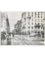 Gaetano Alfano, Torre Velasca, fotografia su carta, 55,5x42 cm